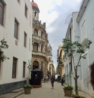 Typical street in Old Havana.