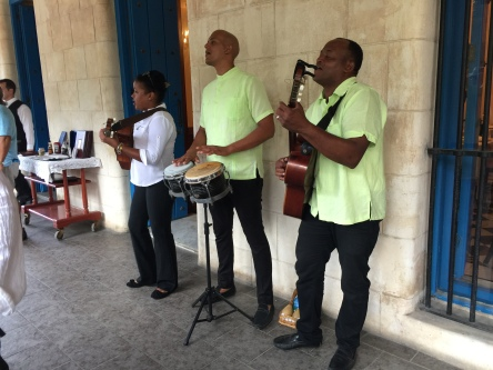 These musicians were playing as we got off the bus at Plaza de Armas.